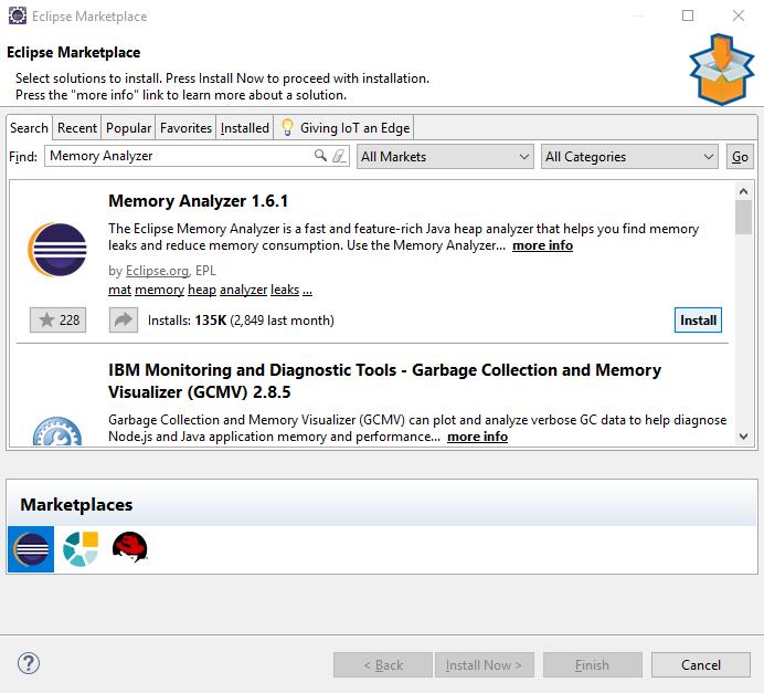 memory analyzer tool (MAT) installation steps using Eclipse IDE